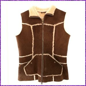 Authentic UGG Leather Vest